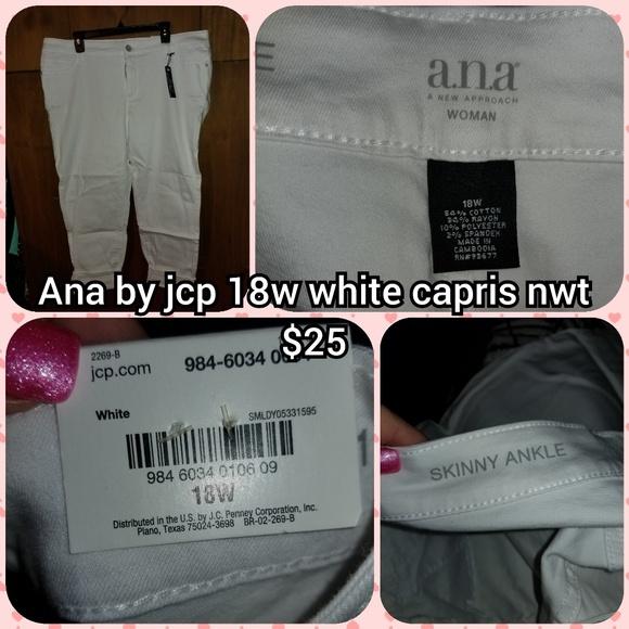 a.n.a Pants - Ana size 18 capris